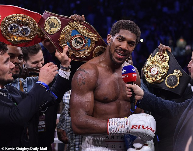 Anthony Joshua (Photo By Keving Quigley)