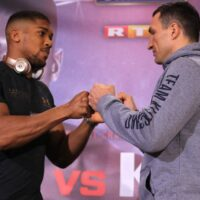 Anthony Joshua & Wladimir Klitschko (Matchroom Boxing)