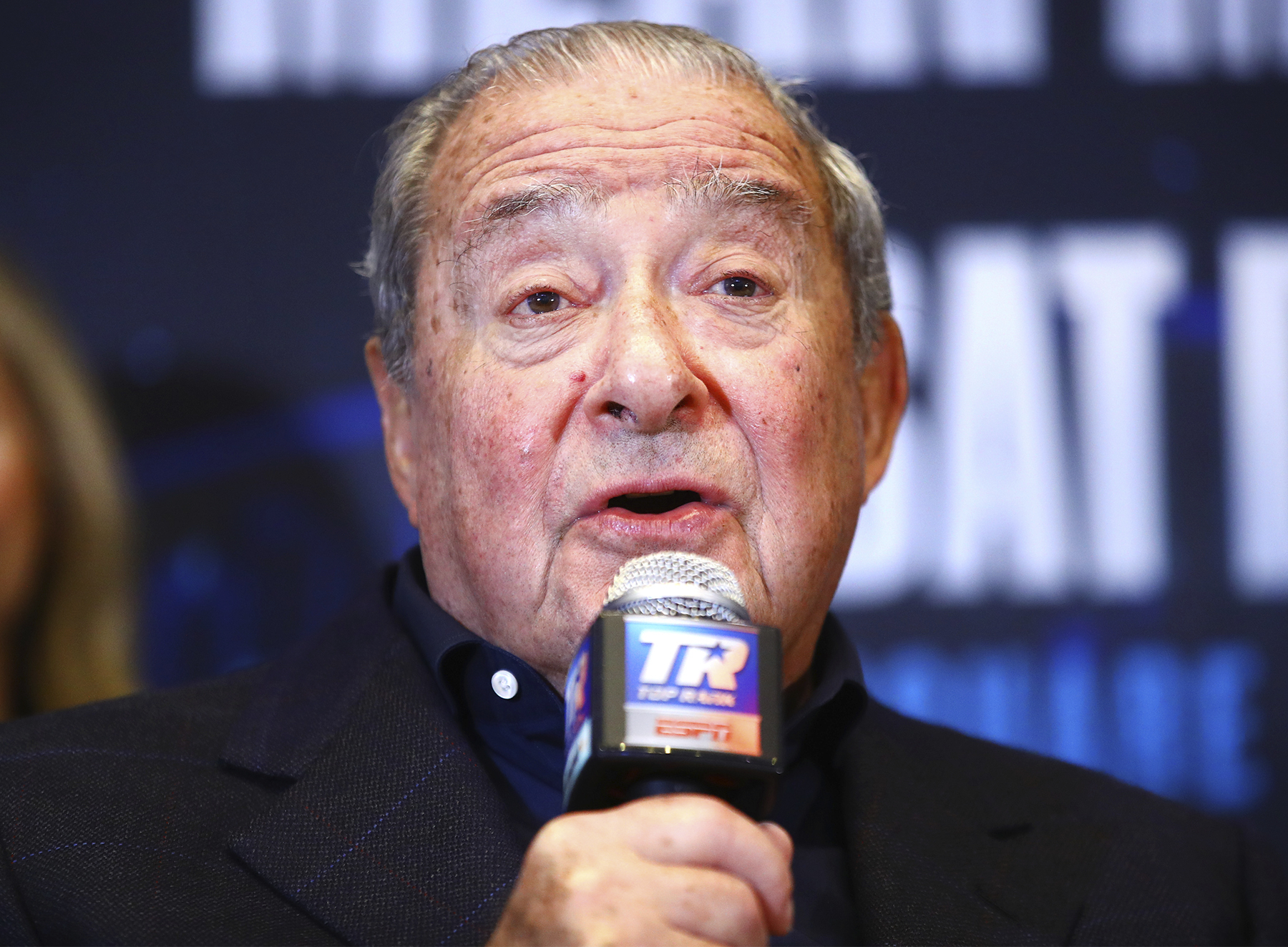 Bob Arum (Mikey Williams Top Rank)