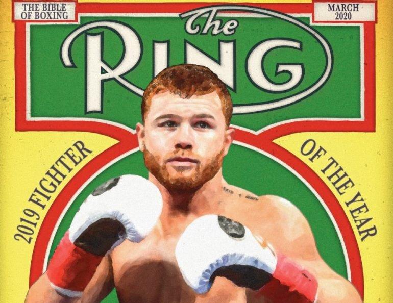 Canelo Álvarez (The Ring Magazine)