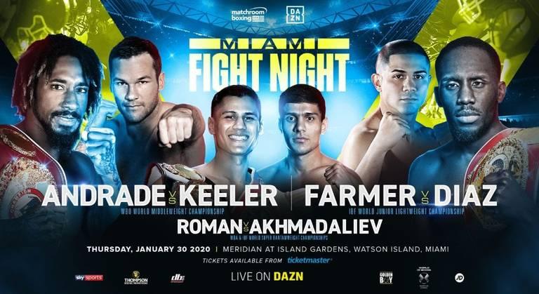 Demetrius Andrade vs Keeler