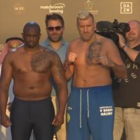 Dillian Whyte & Mariusz Wach (Matchroom Boxing)