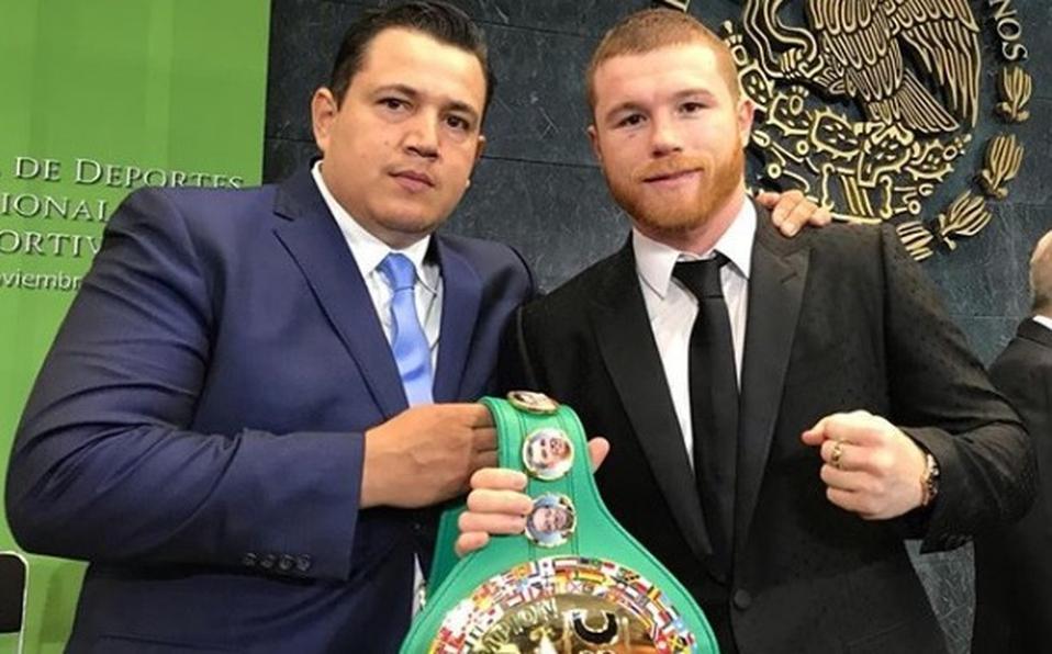 Eddy Reynoso & Canelo Álvarez (Foto Cortesía)