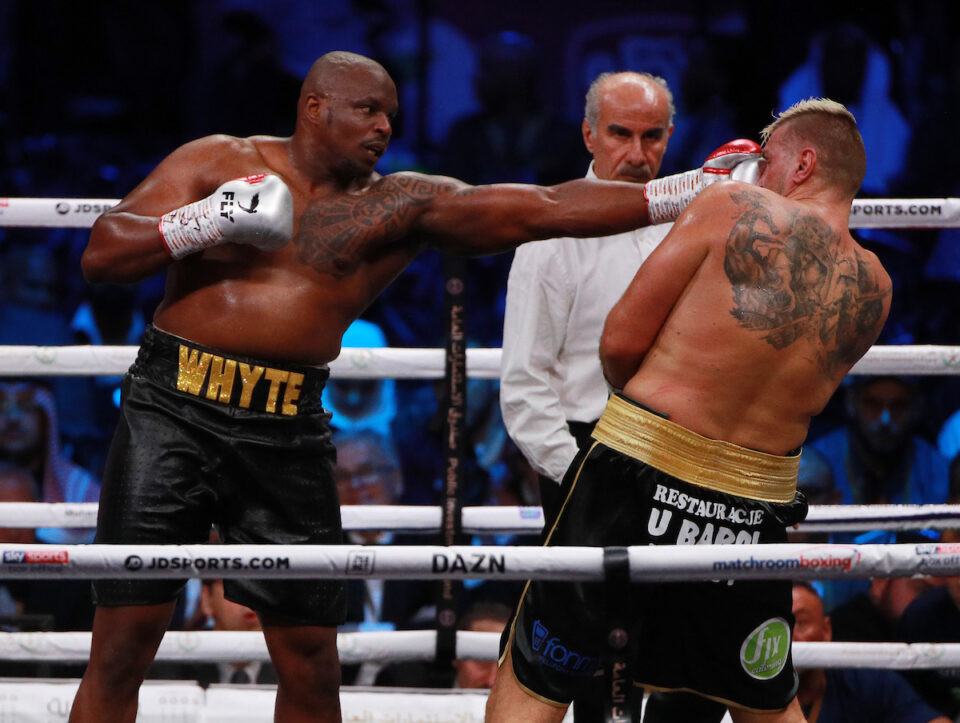 Dillan Whyte & Mariusz Wach (Matchroom Boxing)