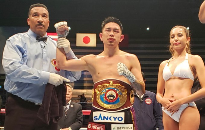 Kazuto Ioka con victoria ante Cintron
