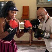 Serena Williams & Mike Tyson (Foto Cortesía)