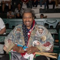 Don King (Photo By Alex Núñez)