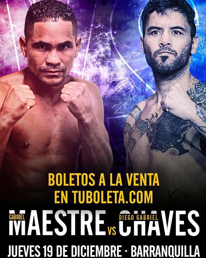 Gabriel Maestre vs Diego 'La Joya' Cháves (WBA)
