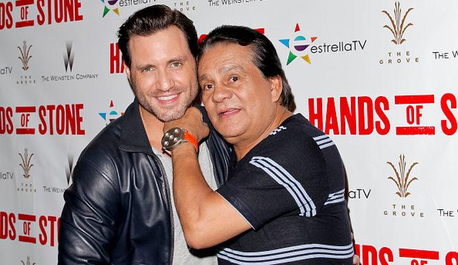 Édgar Ramírez y Roberto Durán