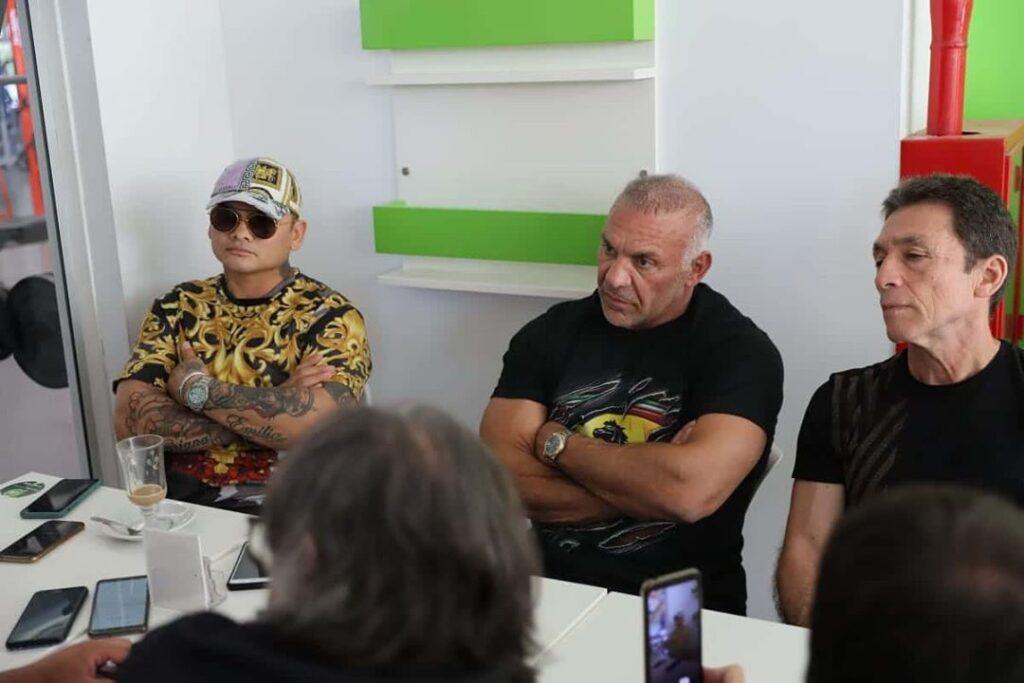 Marcos Maidana & Jorge Cali (Photo By Chino Maidana Promotions)