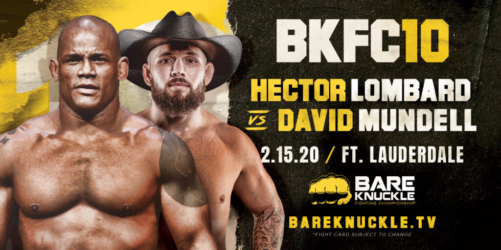 Héctor Lombad & David Mundell (Bare Knuckle Fight)