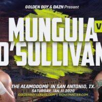 Banner Munguia vs O'Sullivan