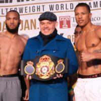 Julian Williams, Gilberto Mendoza & Jesion Rosario (WBA)