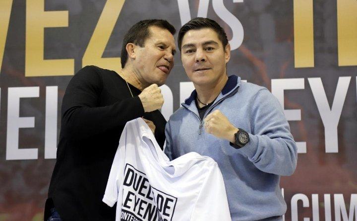 Julio César Chávez & Jorge 'Travieso' Arce (Foto Cortesía)