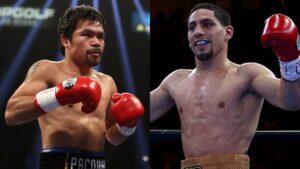Manny Pacquiao & Danny García (Foto Cortesía)