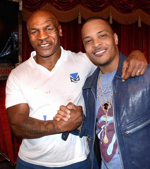 Mike Tyson & T.I (Foto Cortesía)