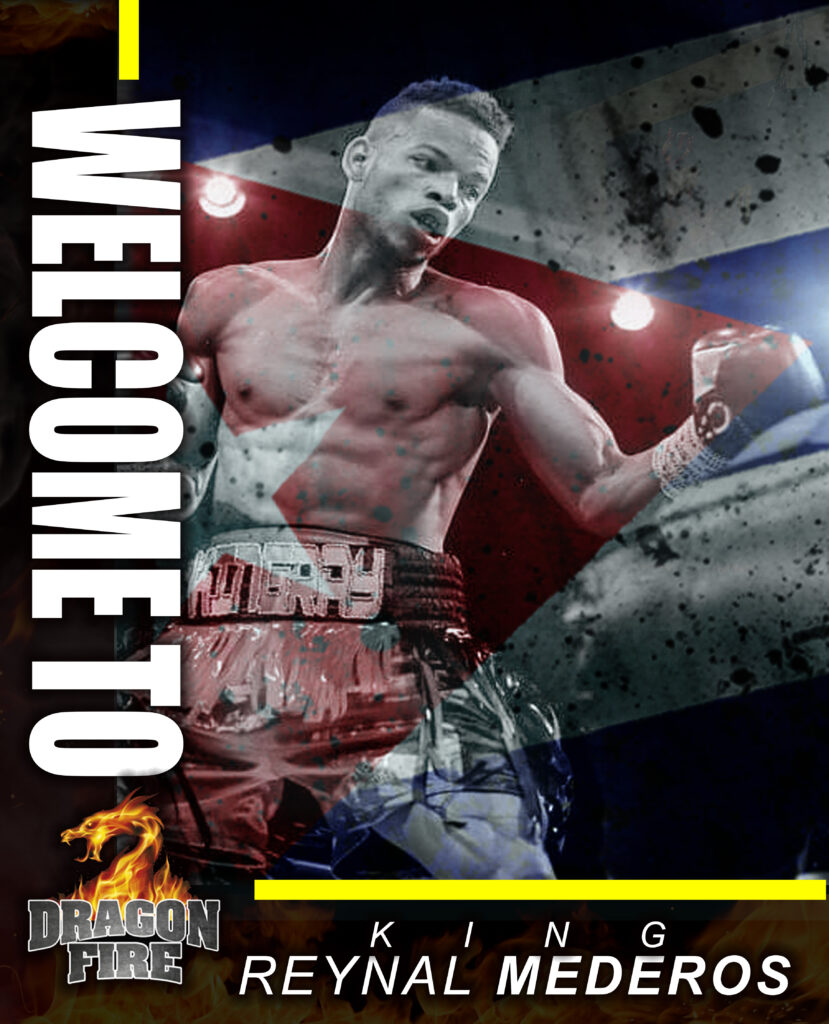 WELCOME TO DRAGON FIRE REYNAL (Photo By Dragon Fire Boxing)