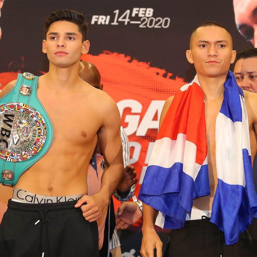 Ryan García & Francisco Fonseca (Hogan Photos)