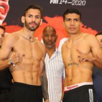 Jorge Linares & Carlos Morales (photos by Tom Hogan Hogan Photos)