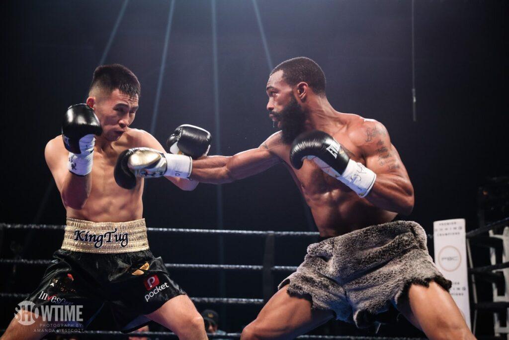 Nyambayar & Gary Russell Jr (Showtime Boxing)
