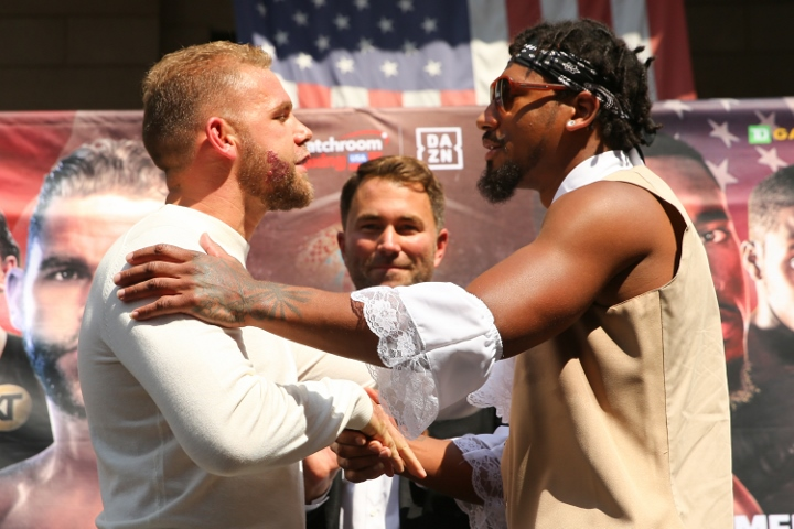 Boxing: Billy Joe Saunders vs Demetrius Andrade Press Conference