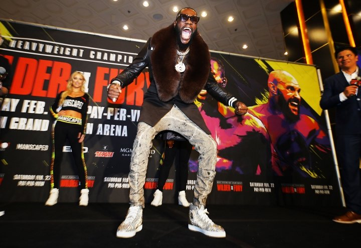 Deontay Wilder (photos by Mikey Williams and Ryan Hafey)