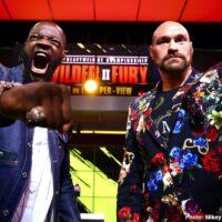 Deontay Wilder & Tyson Fury (Mikey Williams Top Rank)