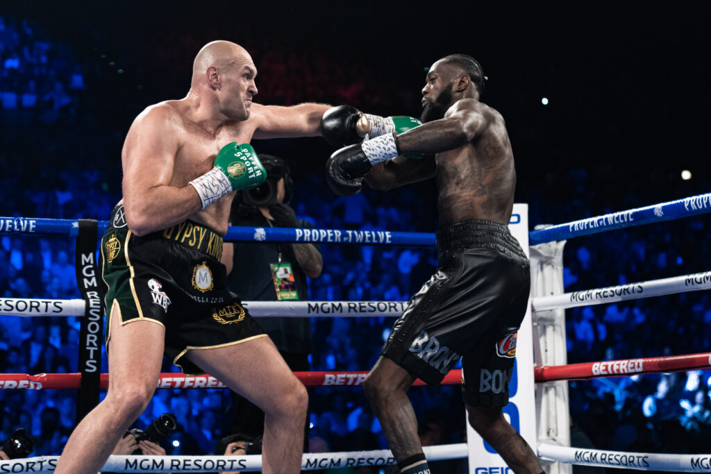 Deontay Wilder vs Tyson Fury (Photo By: Ryan Hafey _ Premier Boxing Champions) Bob Arum