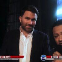 Eddie Hearn & Eric Dubon (FDB Plus)