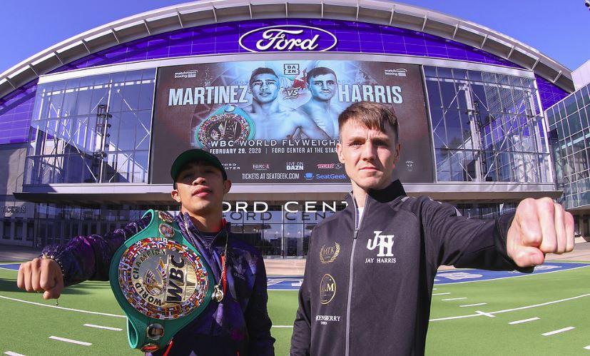 JULIO CESAR MARTINEZ VS JAY HARRIS.