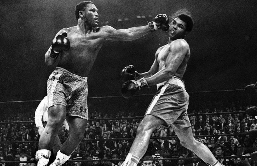 Joe Frazier & Muhammad Ali (Foto Cortesía)