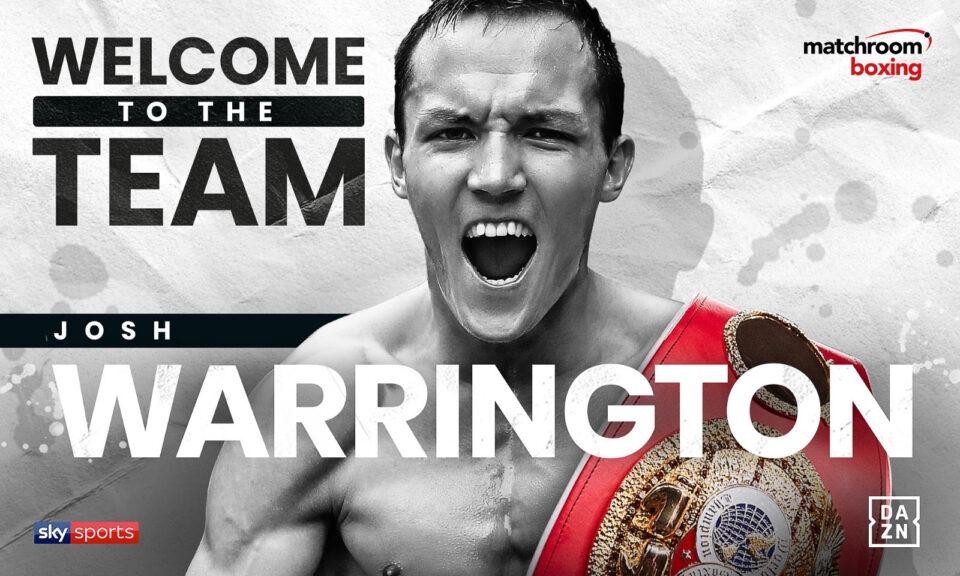 Josh Warrington (Matchroom Boxing)