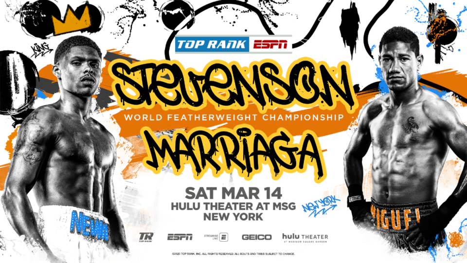 Shakur Stevenson & Miguel Marriaga (Top Rank)