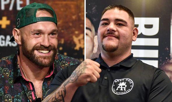 Tyson Fury & Andy Ruíz (Foto Cortesía)