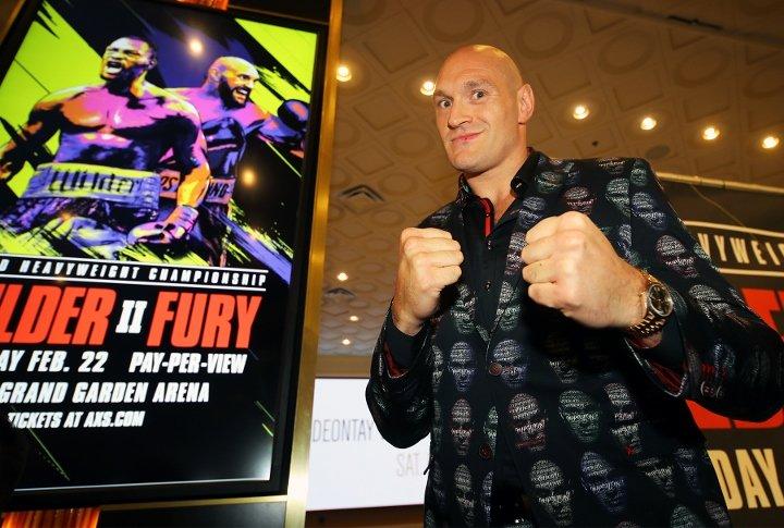 Tyson Fury (photos by Mikey Williams and Ryan Hafey)