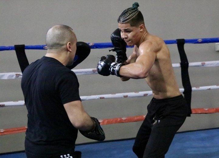 Xander Zayas (Photo by PR Best Boxing Promotions PRBBP)
