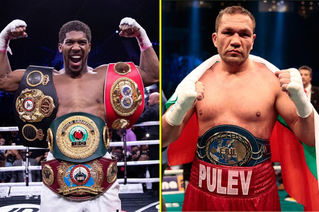 Anthony Joshua & Kubrat Pulev (Foto Cortesía)