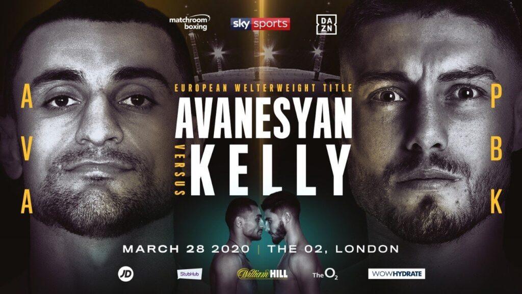 Avanesyan vs Kelly (Matchroom Boxing)