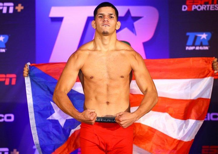 Edgar Berlanga (Mikey Williams Top Rank Boxing)
