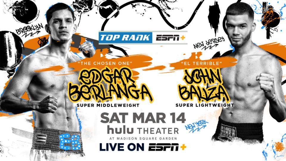 Edgar Berlanga (Top Rank Boxing)