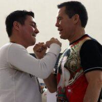 Jorge Arce & Julio César Chávez (Foto Cortesía)