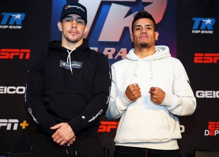 Mike Conlan & Belmar Preciado (Mikey Williams Top Rank)