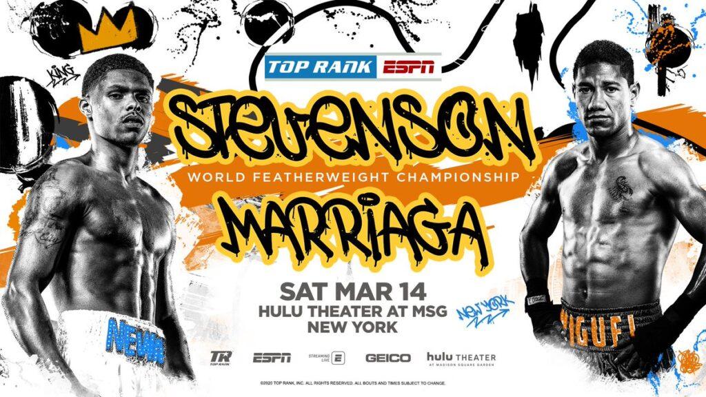 Shakur Stevenson & Miguel Marriaga (Top Rank)