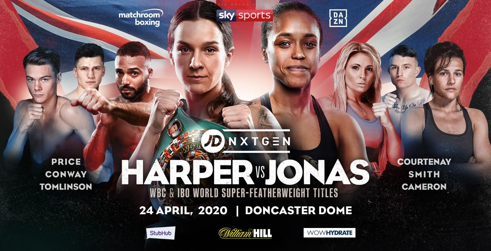 Terri Harper vs Natasha Jonas