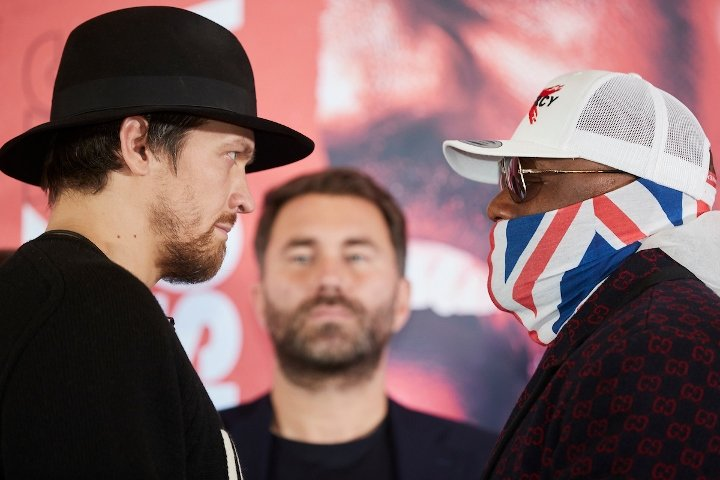 Usyk & Chisora (photos by Mark Robinson)
