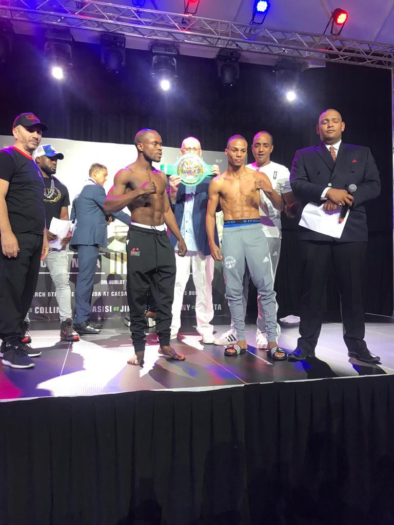 Norbelto Jiménez vs Aliu Bamidele Lasisi (Matchroom Boxing)