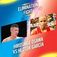 Hiroshige Osawa & Héctor García (WBA)