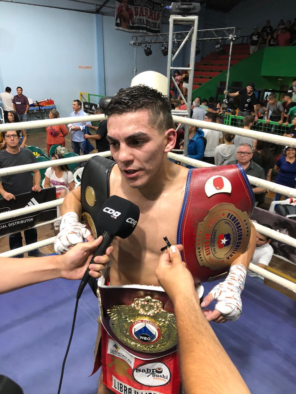 Andrés Campos (Dragon Fire Latino Boxing)
