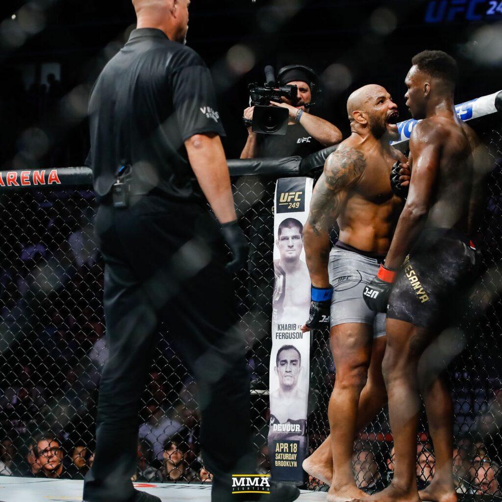 Yoel Romero & Israel Adesanya (UFC)