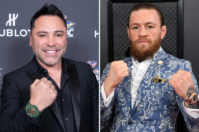 Oscar De La Hoya vs Conor McGregor